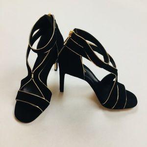 NWOB Black & Gold MICHAEL Michael Kors- Size 5